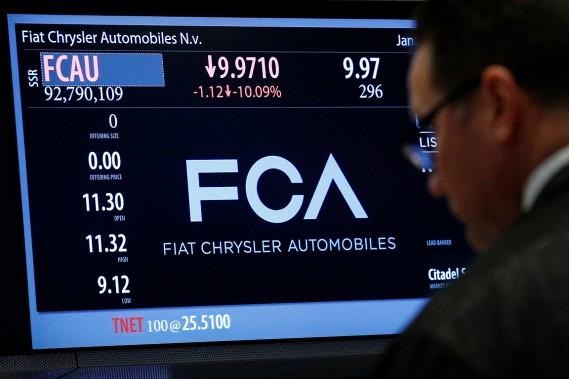 Malgré le dieselgate, Fiat Chrysler confirme ses objectifs2018