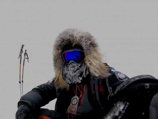 Les journées où il fait 50 degrés sous zéro dans cette région du monde sont fréquentes (Sébastien Lapierre - polesud2016.com)