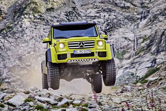 Le Mercedes AMG G550 4X4<sup>2.<br /></sup> (Photo : Mercedes-Benz)
