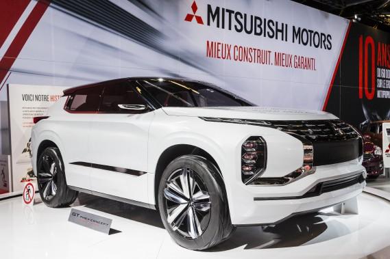 Le prototype Mitsubishi GT-PHEV. (Photo Édouard Plante-Fréchette, La Presse)