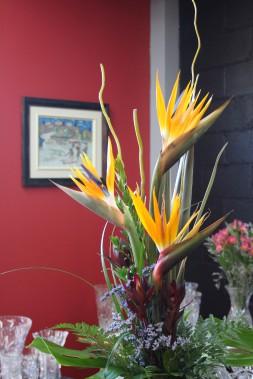 Un beau bouquet coloré attire toujours le regard et égaye une pièce. (Mélissa Bradette)