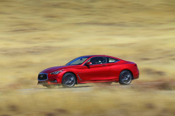 L'Infiniti Q60 (Photo fournie par Infiniti)