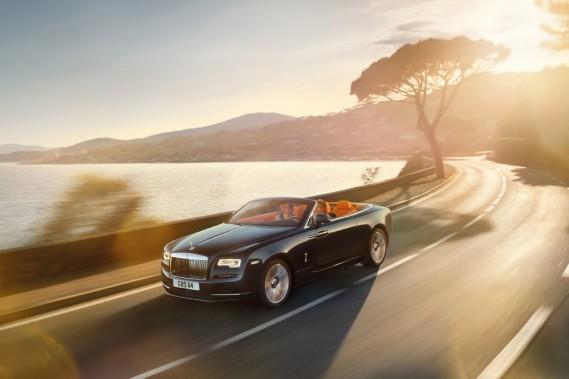 Rolls Royce au Salon de l'auto : l'aube de la Dawn