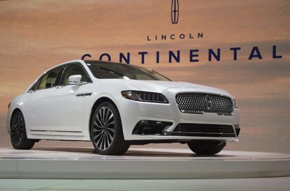 La Lincoln Continental est une véritable limousine. (AFP)
