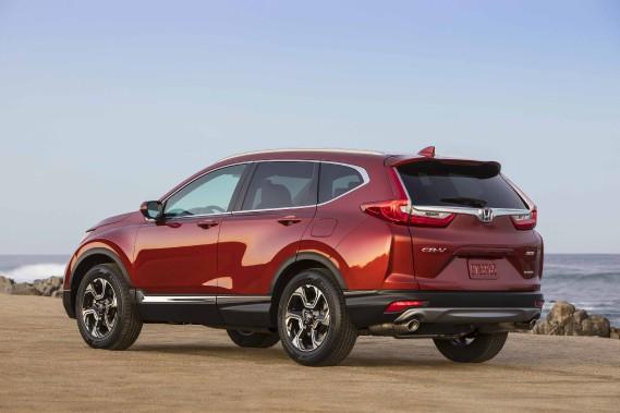 Banc d'essai Honda CR-V 2017 - Ƀric Lefrançois ()