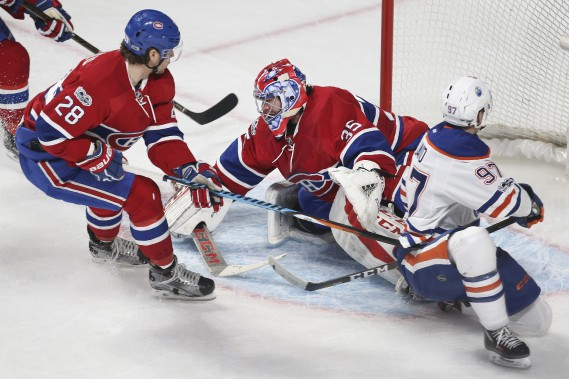 Face à face: Oilers @ Canadiens