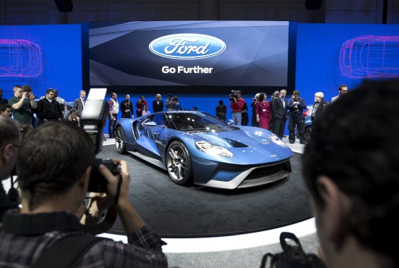 La GT au Salon de l'auto de Toronto en 2015. (THE CANADIAN PRESS)