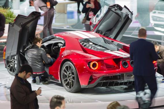 Elle a fait sensation lors du Salon de l'auto de Detroit. (AFP)