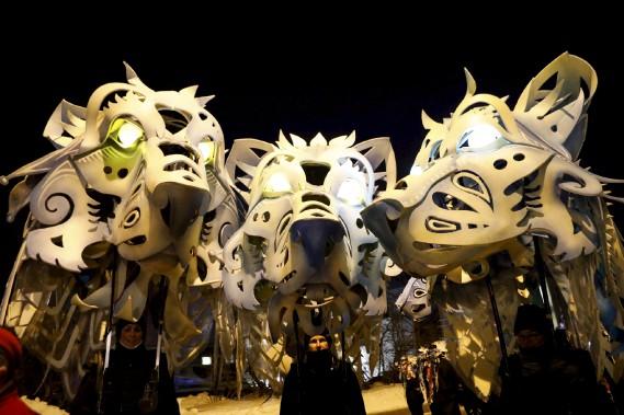 Les têtes de loups (Le Soleil, Caroline Grégoire)