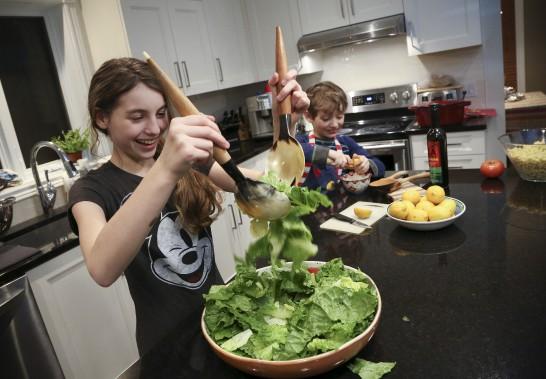 Les enfants et la cuisinephoto rene marquis