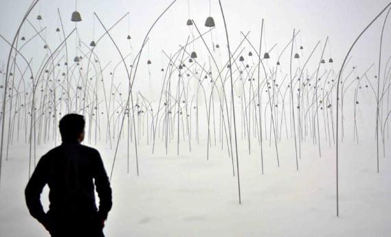 <em>Animitas</em> de Christian Boltanski (Le Soleil, Pascal Ratthé)