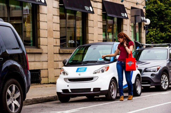 car2go risque d'avoir de plus en plus recours à la version électrique de la smart. (PHOTO FOURNIE PAR CAR2GO)