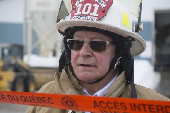 Le directeur du service de sécurité incendie du Centre-Mékinac, René Tourigny. (Stéphane Lessard, Le Nouvelliste)