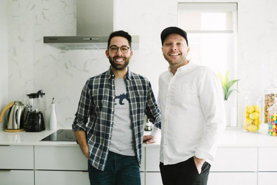 Dans cette maison en rangée minimaliste habitent Dany et Stéphane, qui travaillent respectivement dans le domaine dentaire et le domaine bancaire. (Photo Marie-Christine Gobeil, collaboration spéciale)