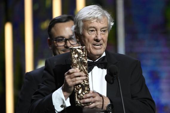 Le César du meilleur film a été remis à Paul Verhoeven, pour <em>Elle.</em> (Photo bertrand GUAY, AFP)