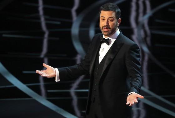 L'humoriste Jimmy Kimmel a animé la soirée. (REUTERS)