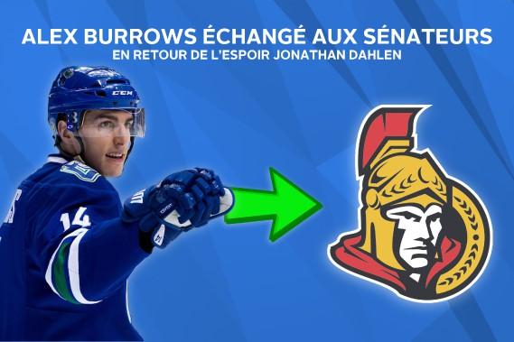 Alex Burrows a signé une prolongation de contrat de deux ans à son arrivée à Ottawa. ()