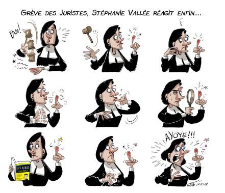 Caricature du 1er mars (Le Soleil, André-Philippe Côté)