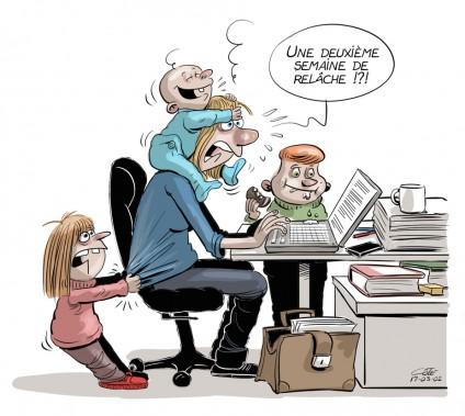 Caricature du 2 mars (Le Soleil, André-Philippe Côté)