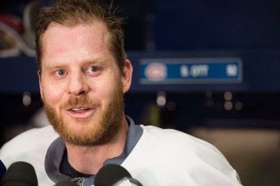 Steve Ott (Photo Simon Giroux, La Presse)