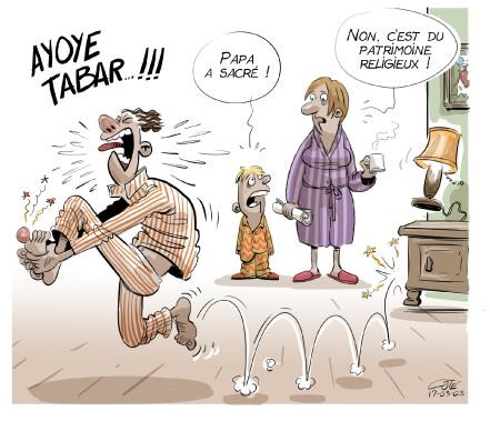 Caricature du 3 mars (Le Soleil, André-Philippe Côté)