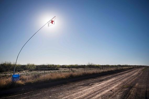 La frontière à Eagle Pass, au Texas (AFP, Jim Watson)