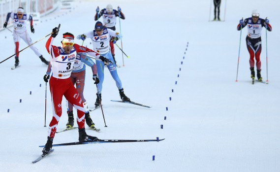 Alex Harvey champion du monde au 50 km