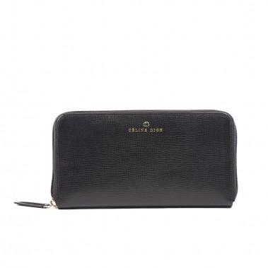 Portefeuille en cuir de la ligne Cavatina, de la collection Céline Dion (108$) (Fournie par Groupe Bugatti)