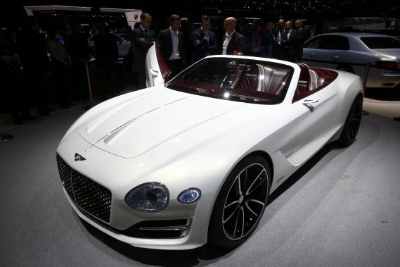 Le prototype Bentley EXP 12. (REUTERS)