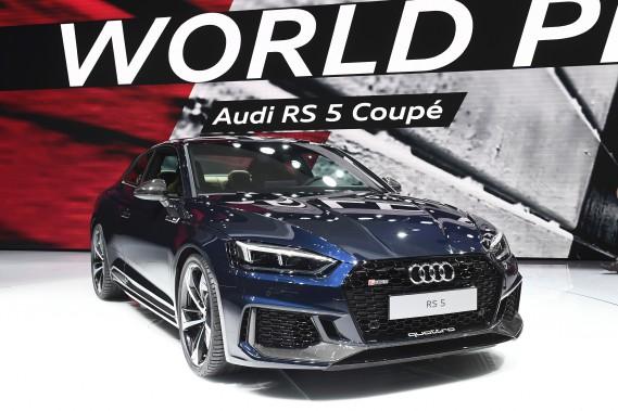 Le Coupé Audi RS 5. (AFP)
