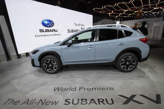 Le nouveau Subaru Crosstrek (connu sous le nom de XV en Europe). (AP)