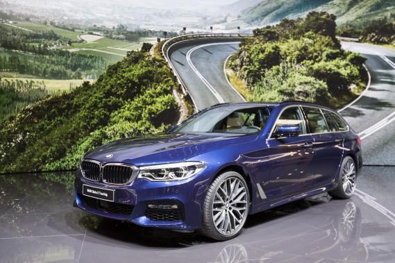 La nouvelle BMW Série 5 Touring. (AP)