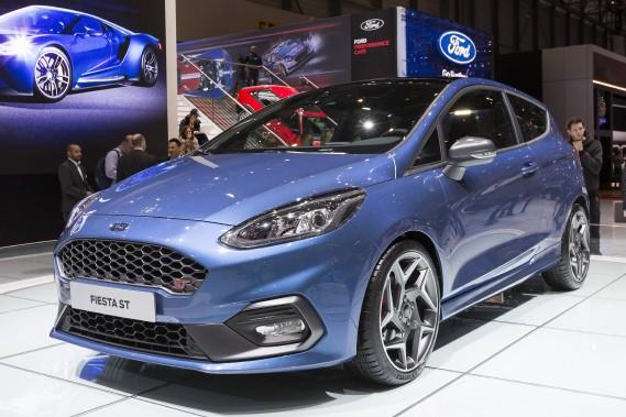 La nouvelle Ford Fiesta ST. (AP)