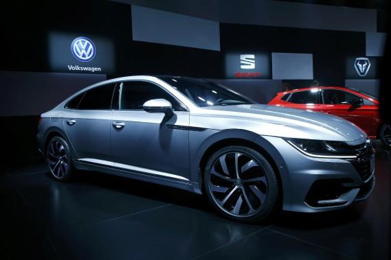 La remplaçante de la Volkswagen CC, l'Arteon. (REUTERS)
