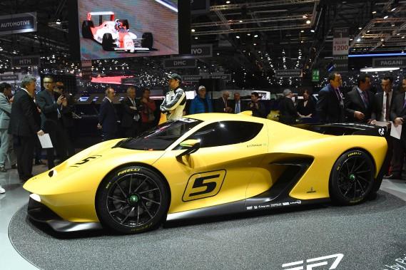 La Emerson Fittipaldi EF7. (AFP)