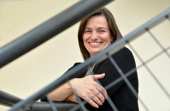 Ève Langelier, professeure ˆà la facultŽé de gŽénie de l'universitéŽ de Sherbrooke. (Maxime Picard)