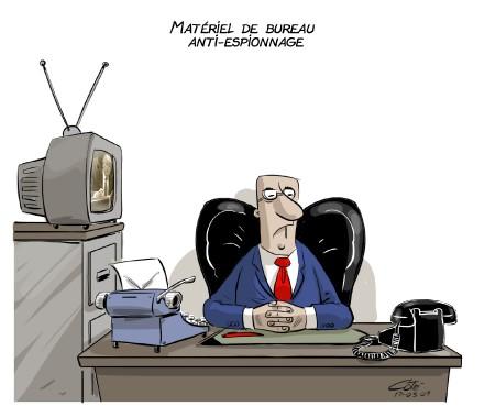 Caricature du 9 mars (Le Soleil, André-Philippe Côté)