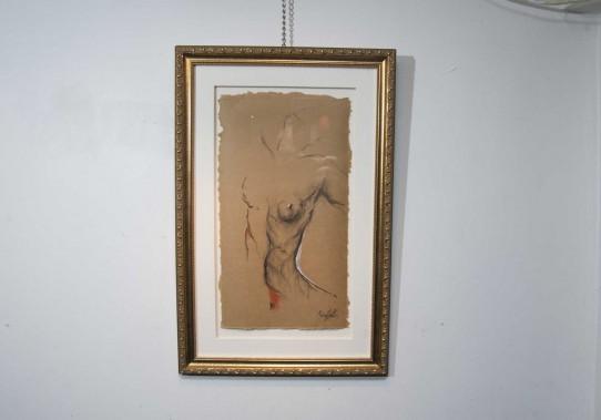 Oeuvre de l'exposition<em>Autour de la journée de la femme.</em> (Sylvain Mayer)