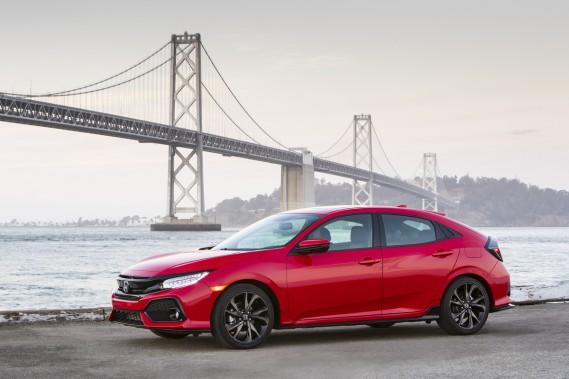 Bien qu'elle ne soit pas la meilleur marché des Civic (elle est assemblée au Royaume-Uni), la Civic 5-portes permet à Honda de séduire une clientèle nouvelle. (Wesley Allison)