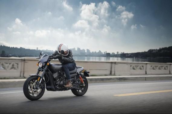 La nouvelle Harley-Davidson Street Rod a été lancée ce jeudi à Montréal. (Photo : Harley-Davidson)