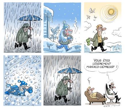 Caricature du 15 mars (André-Philippe Côté, Le Soleil)