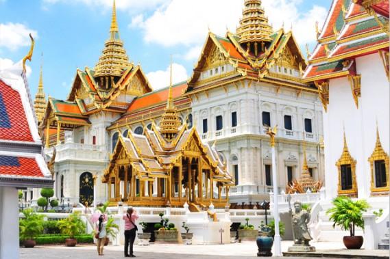 Visite du Palais royal de Bangkok, circuit en Thaïlande. (VOYAGES TRADITOURS)