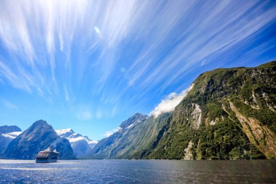 Fjord Milford, croisière en Australie et Nouvelle-Zélande (VOYAGES TRADITOURS)