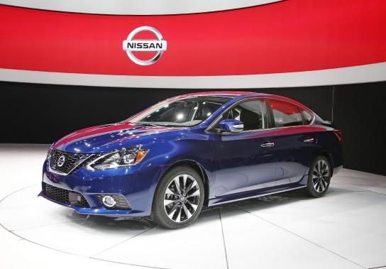 La Sentra est fabriquée à l'usine Nissan d'Aguascalientes, au Mexique. (AP)