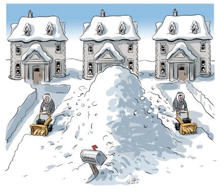 Caricature du 17 mars (Le Soleil, André-Philippe Côté)