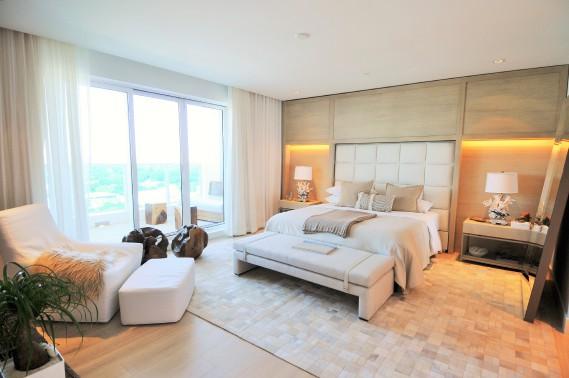 La chambre principale (Photo courtoisie 1 Hotel & Homes)