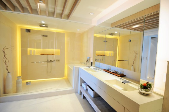 L'une des deux salles de bain. (Photo courtoisie 1 Hotel & Homes)
