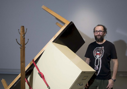 L'artiste José Luis Torres (Sylvain Mayer)