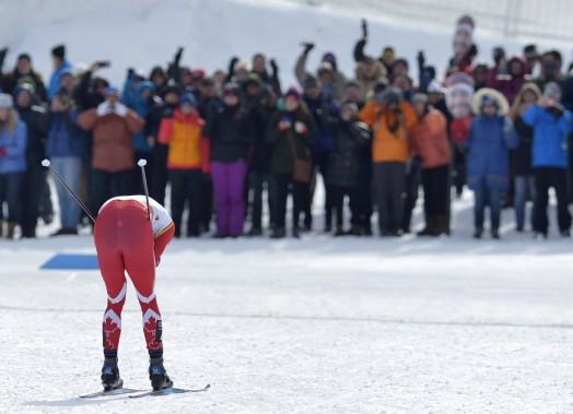 Alex Harvey n'a pas déçu ses nombreux partisans en remportant vendredi le sprint style libre. (Le Soleil, Yan Doublet)
