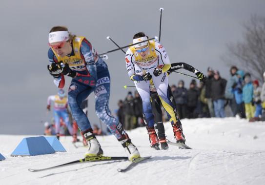 La finale du sprint féminin (Le Soleil, Yan Doublet)